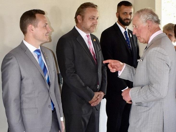 Rotary Presidents Meet HRH Prince Charles