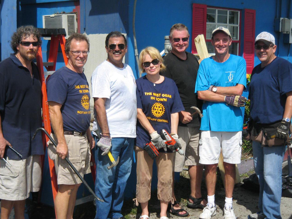 Our rotarians on site