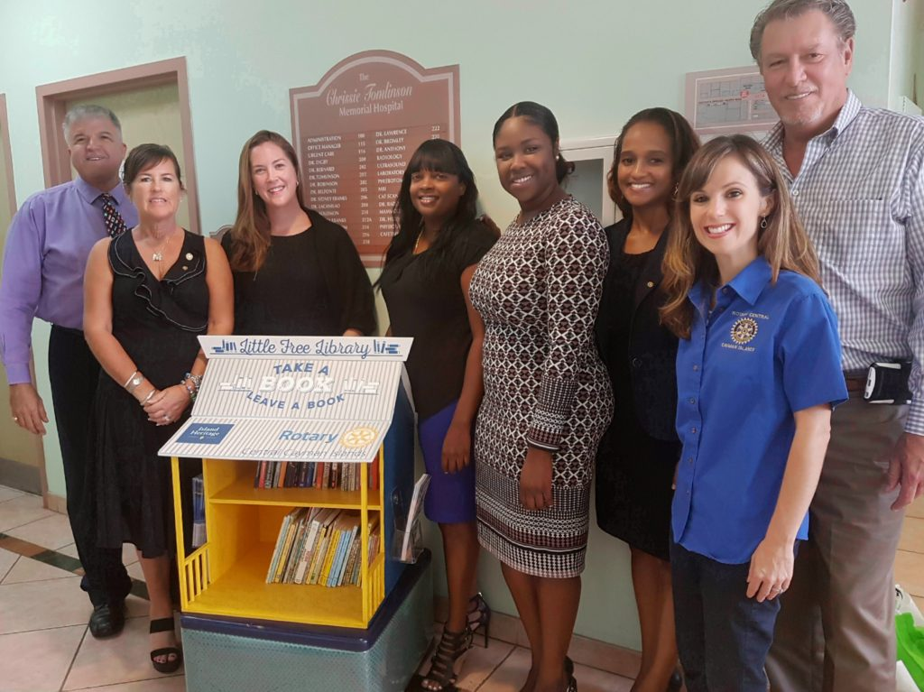 Little Free Library Launch