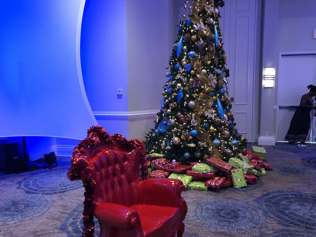 Children's Christmas Party Tree