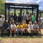 Rotary Central Builds and Donates Two Bus Shelters to Rotary in Cayman Brac